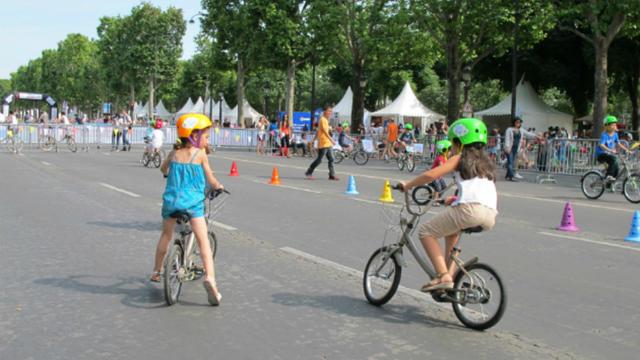 Les P'tit Vélib' seront proposés aux enfants au cours de 24h Vélib'.
