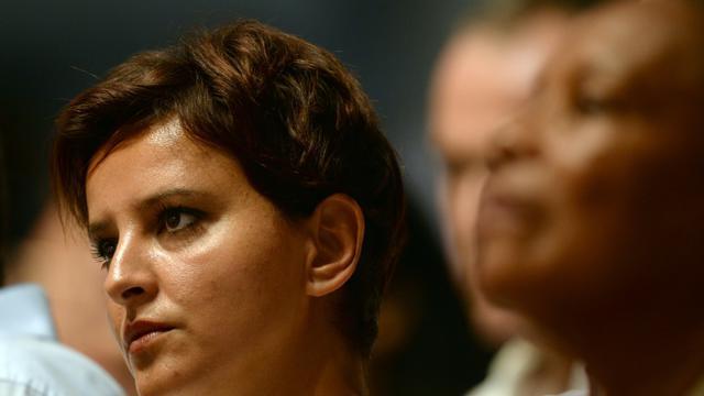 Najat Vallaud-Belkacem à l'université d'été du PS le 30 août 2015 [Jean Pierre Muller / AFP]