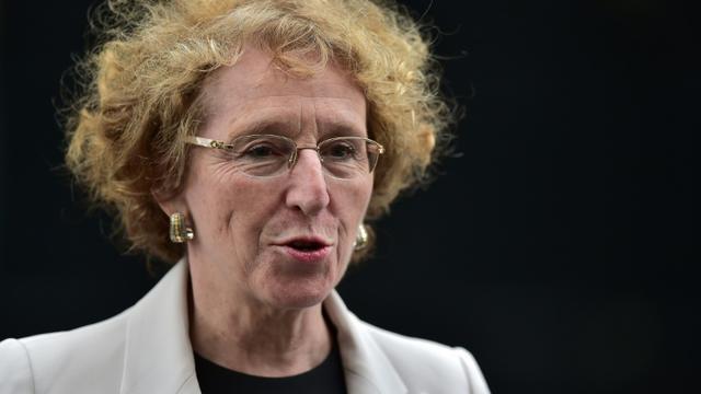 La ministre du Travail Muriel Pénicaud le 18 mai 2017 à Paris [CHRISTOPHE ARCHAMBAULT / AFP/Archives]