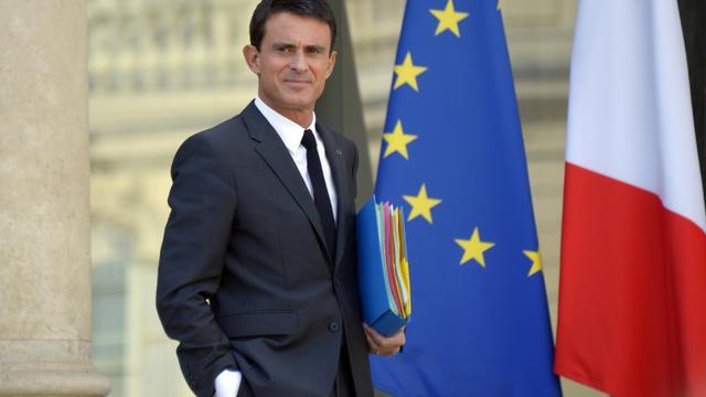 Manuel Valls après le conseil des ministres à l'Elysée le 23 septembre 2015 [Bertrand Guay / AFP/Archives]