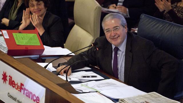Jean-Paul Huchon, président de la région Ile-de-France, le 20 décembre 2012 à Paris [Edouard de Mareschal / AFP/Archives]