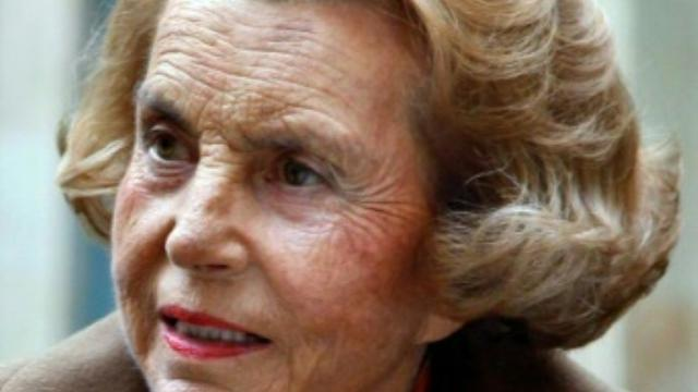 Liliane Bettencourt le 12 octobre 2011 à Paris [FRANCOIS GUILLOT / AFP/Archives]