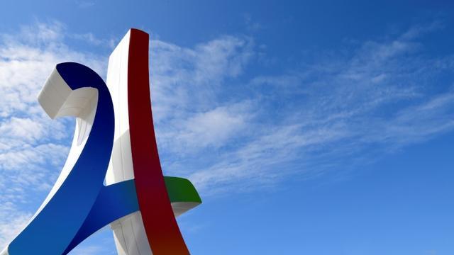 France Télévisions a obtenu les droits de diffusion en clair des Jeux olympiques d'été 2024 à Paris, a annoncé sa présidente Delphine Ernotte sur Twitter le 22 avril 2019  [FRANCK FIFE / AFP]