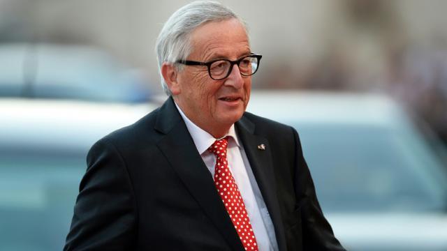 Le président de la Commission européenne Jean-Claude Juncker à Salzbourg le 19 septembre 2018. [Christof STACHE / AFP]