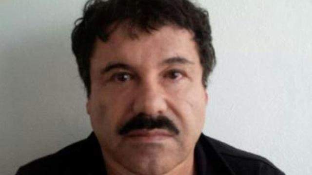 """Photo fournie par le gouvernement mexicain le 22 février 2014 du baron de la drogue Joaquin """"El Chapo"""" Guzman [- / PGR/AFP/Archives]"""