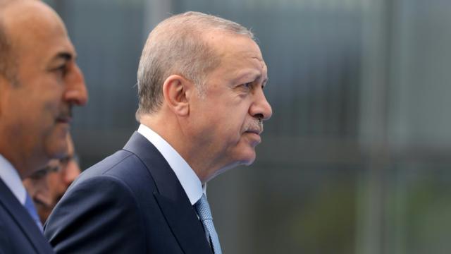 Le président turc Recep Tayyip Erdogan à Bruxelles le 12 juillet 2018  [LUDOVIC MARIN / AFP/Archives]