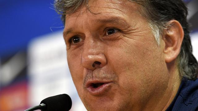 L'entraîneur argentin Gerardo Martino, le 16 mai 2014 à Barcelone [Lluis Gene / AFP/Archives]