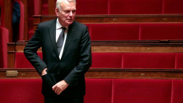 Le député PS et ex-Premier ministre français Jean-Marc Ayrault à l'Assemblée nationale à Paris, le 4 novembre 2015 [JACQUES DEMARTHON / AFP/Archives]