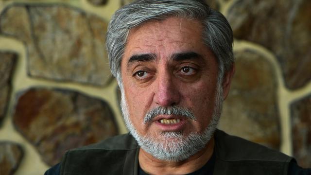 Le candidat à la présidentielle afghane Abdullah Abdullah à sa résidence de Kaboul le 9 août 2014 [Wakil Kohsar / AFP/Archives]