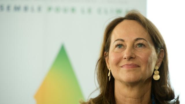 La ministre de l'Ecologie, du Développement durable et de l'Energie Ségolène Royal à New York, le 28 septembre 2015 [ALAIN JOCARD / AFP/Archives]