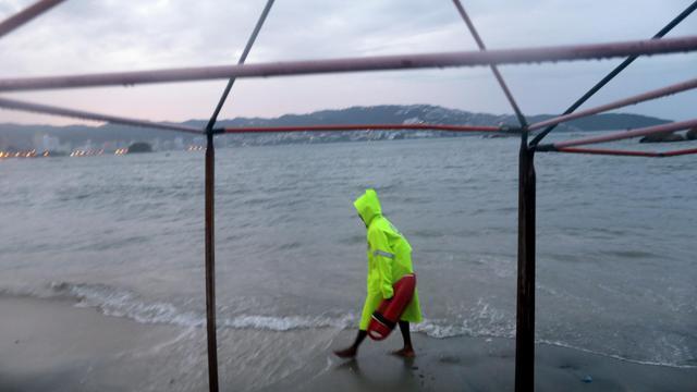 Une plage d'Acapulco au Mexique en octobre 2013 [Pedro Pardo / AFP/Archives]