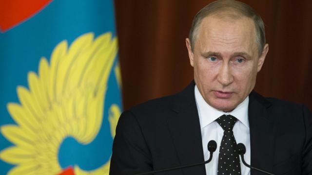 Le président russe Vladimir Poutin à Moscou, le 30 juin 2017 [Ivan Sekretarev / POOL/AFP]