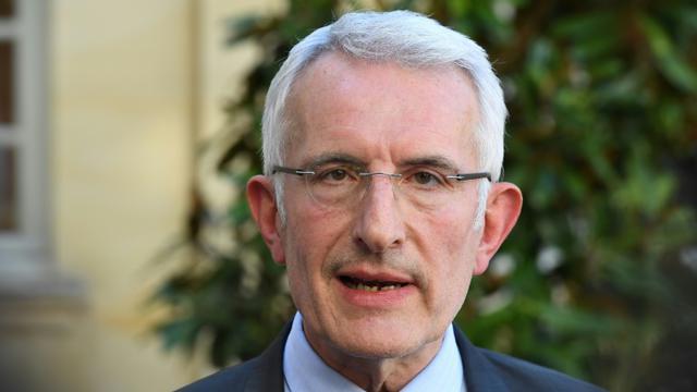 Le président de la SNCF Guillaume Pepy le 7 mai 2018 à Paris [Christophe ARCHAMBAULT / AFP/Archives]