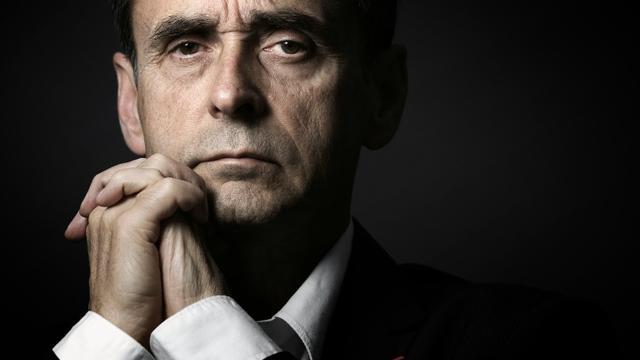 Robert Ménard, maire FN de Béziers, pose le 21 mai 2015 à Paris [JOEL SAGET / AFP/Archives]