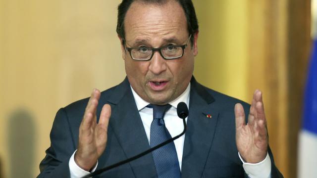 Le président français François Hollande le 17 septembre 2015 à Modène [OLIVIER MORIN / AFP]