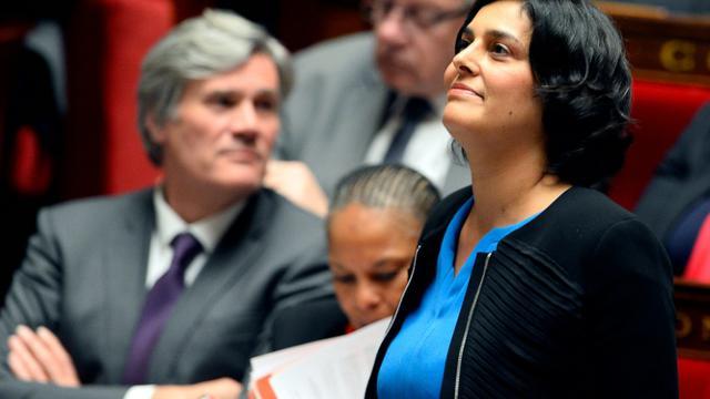 La ministre du Travail Myriam El Khomri lors des questions au gouvernement le 19 janvier 2016 à l'Assemblée nationale à Paris [ALAIN JOCARD / AFP]
