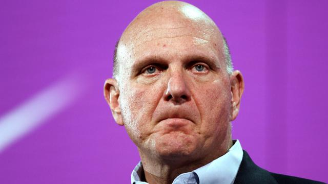 Steve Ballmer, le 29 octobre 2012 à San Francisco [Kimihiro Hoshino / AFP/Archives]