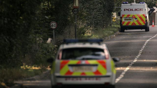 Des voitures de police britanniques [Edmond Terakopian / AFP/Archives]