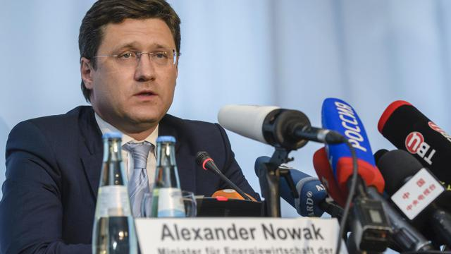 Le ministre russe de l'Énergie, Alexandre Novak, le 26 mai 2014 à Berlin [Clemens Bilan / AFP/Archives]
