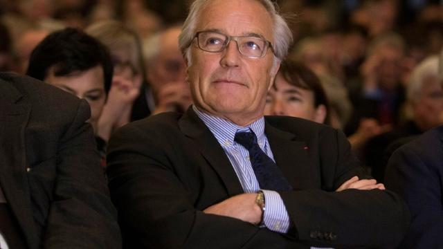 Francois Rebsamen en avril 2016 [Geoffroy Van der Hasselt / AFP/Archives]