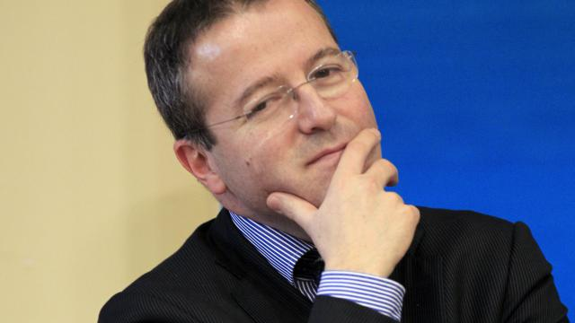 L'initiateur du RSA, Martin Hirsch, aujourd'hui directeur de l'Assistance Publique-Hôpitaux de Paris (AP-HP) le 07 mars 2012 à Paris [Jacques Demarthon / AFP/Archives]