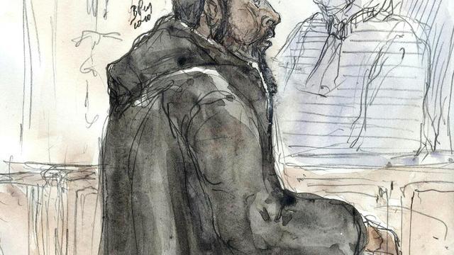Peter Cherif, lors de son procès à Paris le 26 janvier 2011 [BENOIT PEYRUCQ / AFP/Archives]
