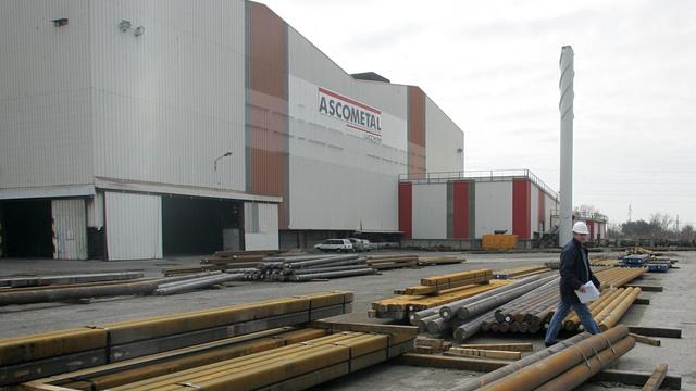 Le site industriel d'Ascométal à Fos-sur-Mer, le 20 mars 2006 [Boris Horvat / AFP/Archives]