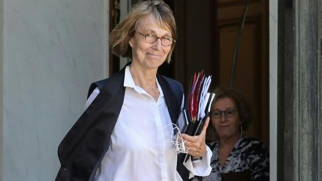 La ministre de la Culture Françoise Nyssen à Paris le 27 juin 2018 [ludovic MARIN / AFP/Archives]