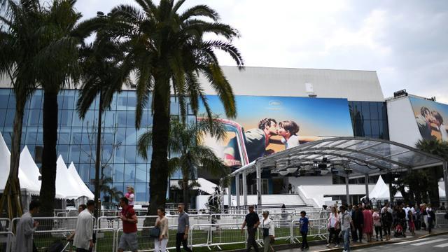 Photographie du Palais des Festivals à Cannes, le 6 mai 2018 [Anne-Christine POUJOULAT / AFP]