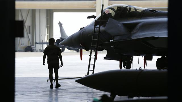 Rafales français, le 17 novembre 2015 [KARIM SAHIB / AFP/Archives]