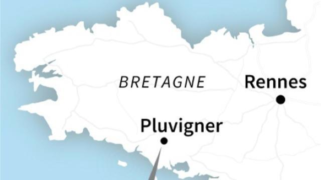 Un F-16 belge s'écrase en Bretagne [AFP / AFP]