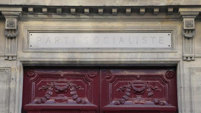 Le QG du parti socialiste rue de Solférino à Paris [Jacques Demarthon / AFP/Archives]