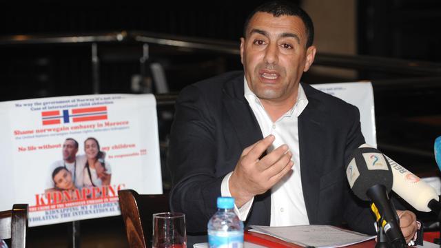 L'athlète marocain Khalid Skah à Rabat le 4 février 2010