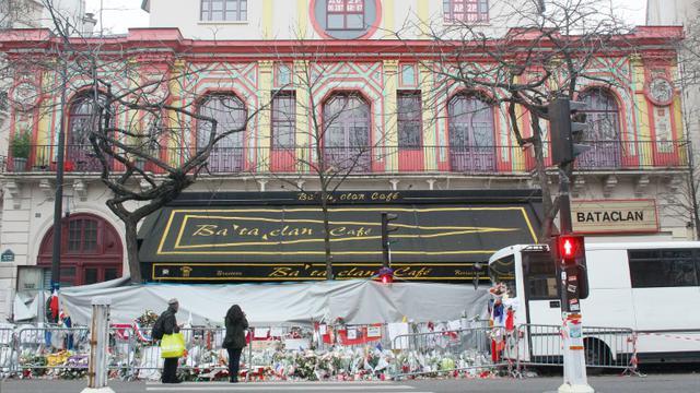 La salle de spectacle du Bataclan à Paris, le 13 décembre 2015 [MATTHIEU ALEXANDRE / AFP/Archives]