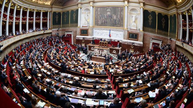 Vue de l'Assemblée nationale à Paris [Martin Bureau / AFP]