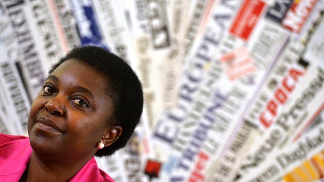 La ministre italienne de l'Intégration, Cecile Kyenge, le 19 juin 2013 à Rome [Alberto Pizzoli / AFP]