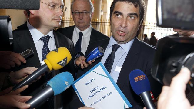 Christian Jacob, chef de file des députés UMP, le 23 avril 2013 à Paris [Francois Guillot / AFP/Archives]