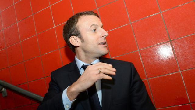 Le ministre de l'Economie Emmanuel Macron à Rennes, le 6 novembre 2015  [Thomas Bregardis / AFP/Archives]