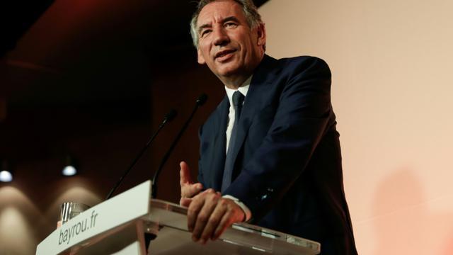 François Bayrou, le 21 juin 2017 à Paris [Thomas SAMSON / AFP]