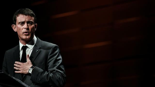 Le Premier ministre Manuel Valls, le 6 novembre 2015 à Lyon [JEFF PACHOUD / AFP]
