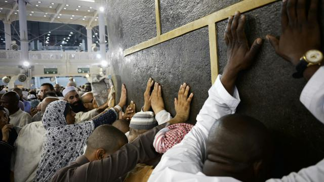 Des pélerins le 26 septembre 2015 à La Mecque [MOHAMMED AL-SHAIKH / AFP]