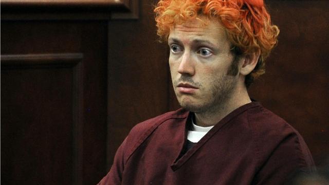 James Holmes devant le tribunal de Centennial, au Colorado, le 23 juillet 2012 [RJ Sangosti / Pool/AFP/Archives]