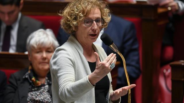 La ministre du Travail, Muriel Pénicaud à l'Assemblée nationale le 6 février 2019. [Christophe ARCHAMBAULT / AFP/Archives]
