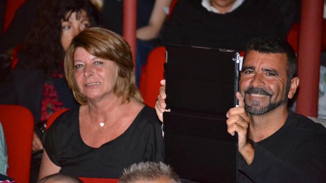 Marie-Josée et Francisco Benitez le 18 mai 2013 à Perpignan [Alexandre Durand / AFP/Archives]