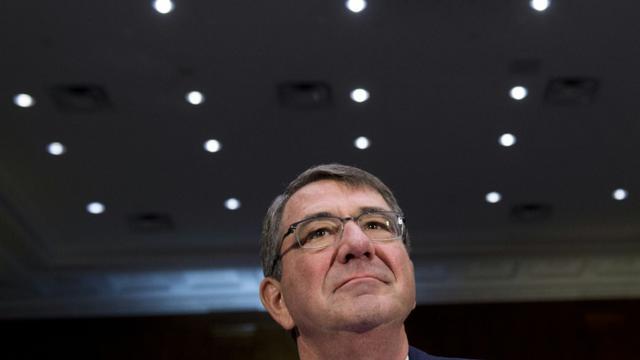 Le ministre américain de la Défense Ashton Carter, le 9 décembre 2015 à Washington [SAUL LOEB / AFP]