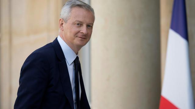 Le ministre de l'Economie Bruno Le Maire arrive à l'Elysée, le 17 juillet 2018 [Eric Feferberg / AFP]