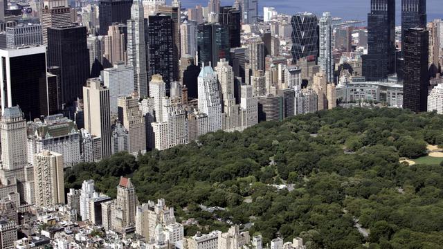 Vue aérienne de la ville de New York [Stan Honda / AFP/Archives]
