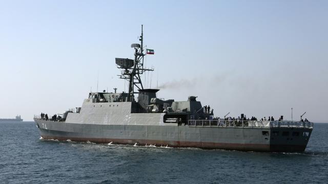 Un navire iranien, le 30 avril 2019 dans le détroit d'Ormuz [ATTA KENARE / AFP/Archives]