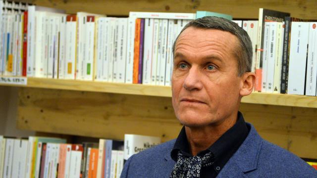 L'écrivain français d'origine russe Andreï Makine, à Bucarest en Roumanie, le 23 novembre 2013 [DANIEL MIHAILESCU / AFP/Archives]