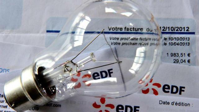Une facture EDF